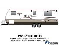 12 Piece 2006 Outback Kargaroo TT Roadside Graphics Kit