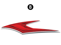 Upper Rear Graphic (I)