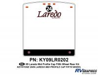 1 Piece 2009 Laredo FW Mid Profile Cap Rear Graphics Kit