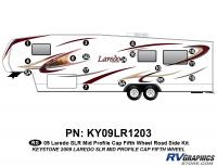 17 Piece 2009 Laredo SLR FW Mid Profile Cap Roadside Graphics Kit
