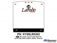 1 Piece 2009 Laredo TT Rear Graphics Kit