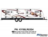 17 Piece 2009 Laredo TT Curbside Graphics Kit