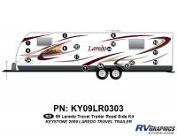 17 Piece 2009 Laredo TT Roadside Graphics Kit